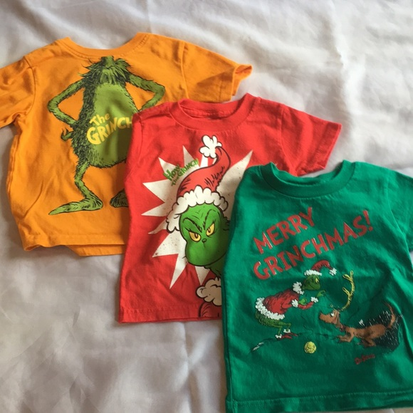 f31b70730 Dr. Seuss Shirts & Tops   Lot Of 3 How The Grinch Stole Christmas ...
